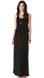 Lanston Racer Back Maxi Dress Black