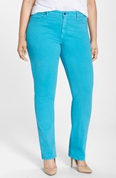 Plus Size Women's Cj By Cookie Johnson 'Faith' Stretch Twill Straight Leg Pants