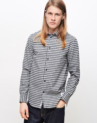 Wood Wood Greco Shirt Check White