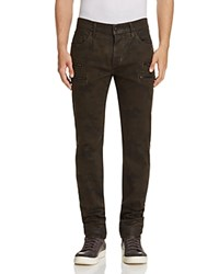 Hudson Broderick Slouchy Slim Fit Jeans In Militant Militant C