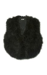 Cacharel Marabou Vest Green