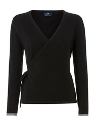 Pepper And Mayne The Royal Ballet Cashmere Wrap Black