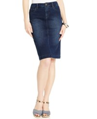 Styleandco. Style Co. Knit Denim Skirt Only At Macy's Punk