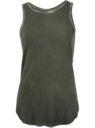 Paige Classic Tank Top Green