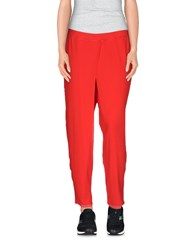 Lo Not Equal Trousers Casual Trousers Women Red
