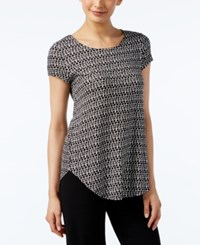 Alfani Geo Print T Shirt Only At Macy's Tribal Marks