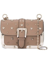 Red Valentino Buckle Detail Cross Body Bag Nude Neutrals