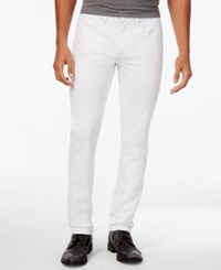 Inc International Concepts Men's White Skinny Jeans Only At Macy's