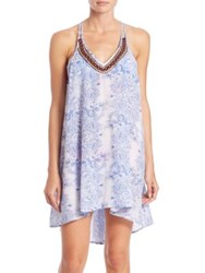 Ondademar Rosental Short Cotton Dress