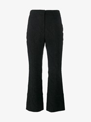 Erdem High Waisted Lace Trousers Black