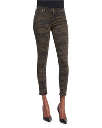 Hudson Lilly Skinny Cropped Pants Combat Camo