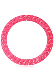 Limemakers Chevron Necklace Neon Pink