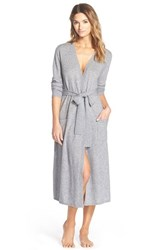 Women's Nordstrom Cashmere Robe Grey Stone Heather