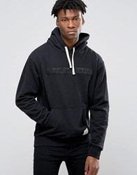 Criminal Damage Hoodie With Logo Black