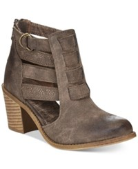 Roxy Mischa Booties Women's Shoes Brown