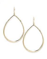 Ippolita Wire Teardrop Hoop Earrings Large Gold
