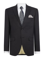 Corsivo Felippo Sb2 Tonal Dot Suit Jacket Black