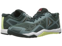 Reebok Ros Workout Tr 2.0 Teal Dust Forest Grey Lemon Zest Black Women's Cross Training Shoes Gray