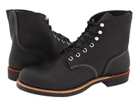 Red Wing Shoes 6 Iron Ranger Black Harness Men's Lace Up Boots