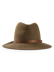 Rag And Bone Rag And Bone Fedora Hat Brown
