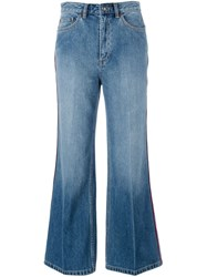 Marc By Marc Jacobs Flared Jeans Blue