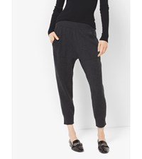Cashmere Cropped Sweatpants