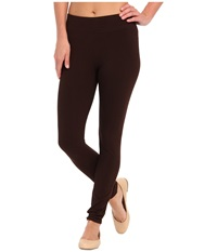 Hue Ultra Leggings W Wide Waistband Espresso Women's Clothing Brown