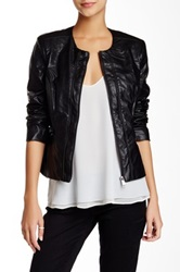 Steve Madden Faux Leather Jacket Black