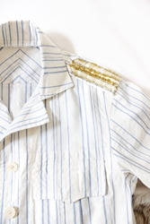 Vintage Pinstripes And Safety Pins Safari By Cutandchicvintage