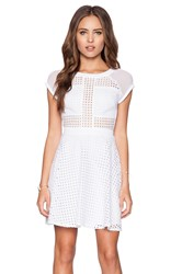 Sam Edelman Embroidered Dress White