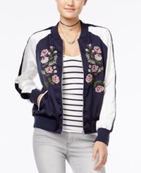 American Rag Embroidered Bomber Jacket Only At Macy's Eclipse Combo