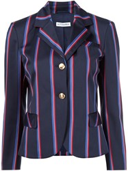 Altuzarra Striped Blazer Blue