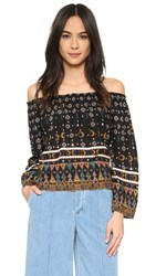 Cleobella Monica Top Tribal Print
