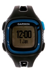 Garmin 'Forerunner 15' Fitness Watch 46Mm Black Blue