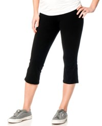 Motherhood Maternity Cropped Yoga Pants