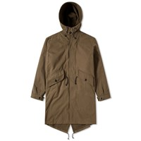 Mhl By Margaret Howell Mhl. Fishtail Parka Green