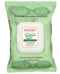 Burt's Bees Facial Cleansing Towelettes Cucumber And Sage 30 Count