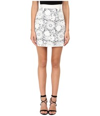 Emma Cook Lace Skirt White