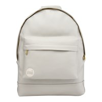 Mi Pac Gold Tumbled Backpack Light Grey