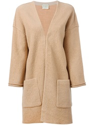 Forte Forte Oversized Open Front Jacket Nude And Neutrals