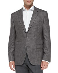 Hugo Boss Dotted Jacquard Sport Coat Men's