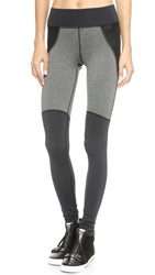 Michi Shadow Leggings Grey Heather Black
