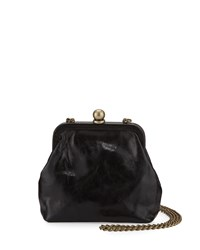 Hobo Libby Mini Crossbody Frame Bag Black