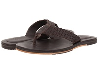 Ugg Morrisey Weave Chocolate Leather Men's Sandals Brown