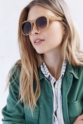 Urban Outfitters Bermuda Square Sunglasses Honey