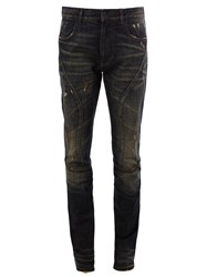 Faith Connexion Destroyed Detailing Skinny Jeans Blue