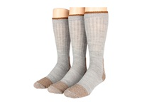 Fox River Steel Toe Crew Wool Heavyweight 3 Pack Grey Crew Cut Socks Shoes Gray