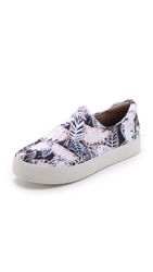 Opening Ceremony Printed Slip On Sneakers Blush Pink Multi