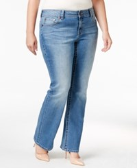 American Rag Trendy Plus Size Starling Wash Bootcut Jeans Only At Macy's