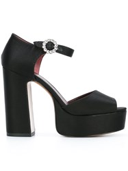 Marc Jacobs 'Sky' Sandals Black